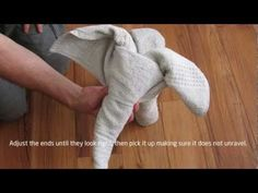 Creative Ideas - DIY Towel Elephant - iCreativeIdeas.com