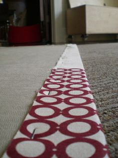 staple the fabric to the back by shiso mama, via Flickr