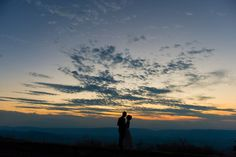 On top of the Shenandoah sits a large open expanse of land called Big Meadows and it's the perfect place for a mountain wedding next to the clouds! Wedding Planner, Destination Wedding, Shenandoah National Park, Perfect Place, How To Memorize Things, National Parks, Clouds, Weddings, Sunset