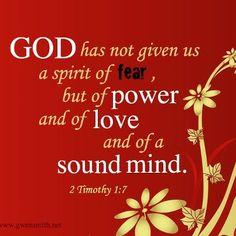 2 Timothy 1:7