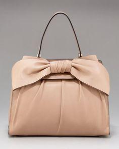 Valentino Aphrodite Bow Bag, Large