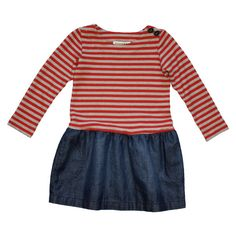 Little Red — Anthem of the Ants - Red Stripe Museum Dress - Girl Clothes at Little Red