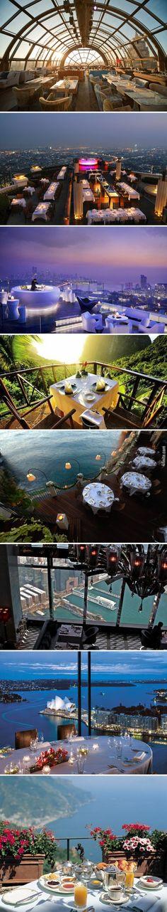 8 Fotoğrafta Muhteşem Manzaraya Sahip Restoranlar  - 4finite.com