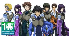 Gundam 00 sequel project, live-action stage play announced for anniversary - SGCafe Red Hair And Glasses, Anime Guys With Glasses, Hot Anime Guys, Design Alien, Anime Guys Shirtless, Gundam Wallpapers, Gundam 00, Familia Anime, Animation