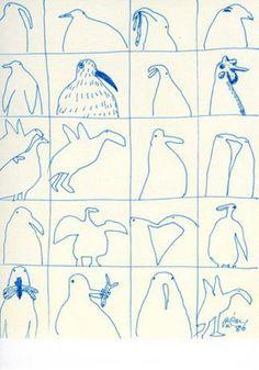 Genichiro Inokuma Name Drawings, Animal Drawings, Simple Illustration, Graphic Illustration, Circle Drawing, Collaborative Art, Elements Of Art, Illustrations And Posters, Making Ideas
