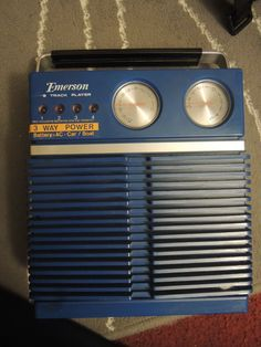 EMERSON-Portable-8-track-player
