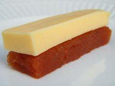 Queso y Dulce de batata o membrillo, postre típico de Argentina