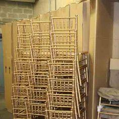Gold or Mahogany Chavari Chairs