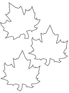 Fensterbilder Herbst basteln – 25 Ideen und Vorlagen zum Ausdrucken Template for printing and coloring – three autumn leaves Felt Crafts, Diy And Crafts, Crafts For Kids, Arts And Crafts, Paper Crafts, Autumn Crafts, Holiday Crafts, Leaf Coloring, Coloring Pages