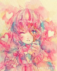 #illustration #watercolor #girl