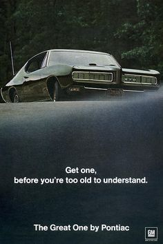 Only mistake in muscle car advertising I've seen - you'd have to be dead to not understand.