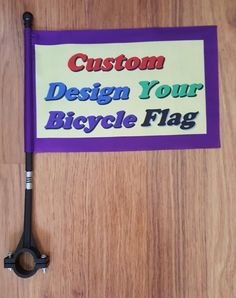 26 Best Custom Made Bicycle Flag & Personalized