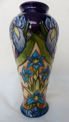 Stunning and Very Large Moorcroft vase Hibiscus Pattern c1930\'s ...