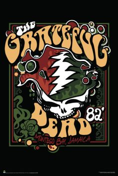 Grateful Dead, who I was lucky enough to see at Stanford in 1982...amazing show