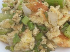 Savory Turkey Stuffing - Atkins Induction Friendly - made from oopsie rolls - 3.5g net carbs per serving