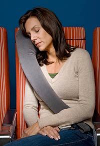 TravelRest Travel Pillow - Review: TravelRest Pillow in Use