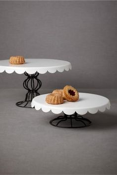 Patisserie Cake Stands.  An Elegant Affair kept by Jeanine Hays.