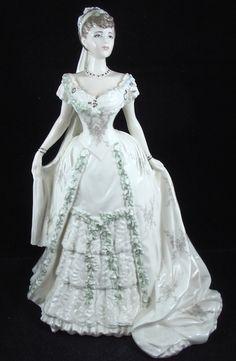 COALPORT LTD. ED. ROYAL BRIDE FIGURINE - QUEEN MARY http://www.ebay.com/