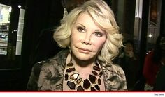 Joan Rivers Dead -- Legendary Comedienne Dies at 81 ~ This really saddens me...Such a beautiful soul and fighting spirit...She made us laugh and some mad..But Always made us laugh and fought to live her life with daughter Melissa despite..Life's Tribulations...To that I salute Joan.* RIP