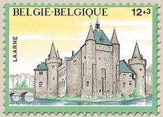 Belgian Stamps Solidarity - Castels. Laarne