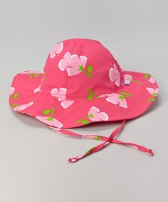 Another great find on #zulily! Fuchsia Buttercup Sunhat by i play #zulilyfinds
