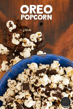 Make your own salty sweet combo with this quick and easy OREO popcorn recipe. Because who doesn't love chocolate and popcorn?!