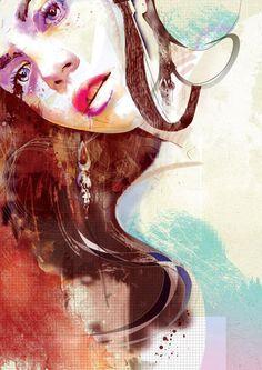 Fashion illustrations by Robert Tirado