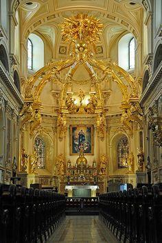 The Notre-Dame de Quebec parish, Canada