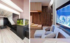 Decofilia Blog   Ideas para decorar con acuarios modernos
