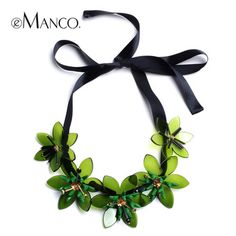 Fresh short design green acrylic ribbon necklaces for women eManco trendy new Rope Chain jewelry accessories http://www.amazon.com/likaliku-Aliexpress-Cheap-Shopping-App/dp/B01BR7ALB2/