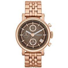 Fossil 'Original Boyfriend' Chronograph Bracelet Watch, 38mm $124.20