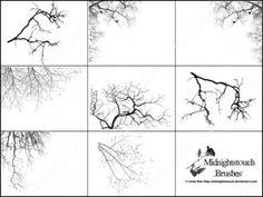 28 photoshop 7 tree brush