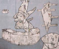 """Saatchi Online Artist Matthew Dibble; Painting, """"Auction House Twenty Ten"""" #art"""