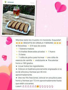 Biscuit de ciruela y banana