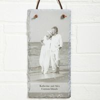 Buy Photo Sentiments Personalized Photo Slate Wall Plaque you can customize with any photo & text. Personalized Valentine's Day Gifts, Customized Gifts, Slate Signs, Cool Gifts For Women, Unique Christmas Gifts, Top Gifts, Unusual Gifts, Wall Plaques, Custom Photo