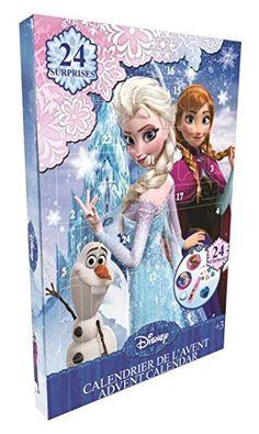 Calendrier de l'avent Frozen La Reine des Neige