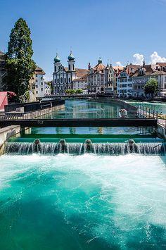 Reuss, Luzern, Switzerland
