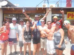 The Krew survived the Amazing Cabo Bar Crawl!