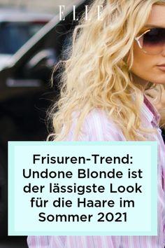 Frisuren-Trend: Im Sommer 2021 setzen wir auf ein super lässiges und pflegeleichtes Undone Blonde. Mehr zum Sommer-Look für die Haare erfährst du im Elle-Video! #beauty #haut #hautpflege #skincare