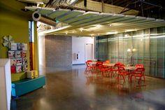 Red Door Interactive office design