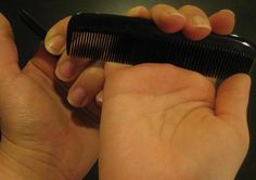 Small Combs can be used to grip during labor providing acupressure on points on the hand to release natural endorphins. $2.50 for 2