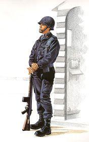 UNIFORME  DE  AERODROMO .- Tropa-1977.