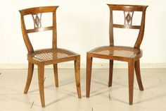 Coppia di sedie Direttorio #dimanoinmano #antiquariato