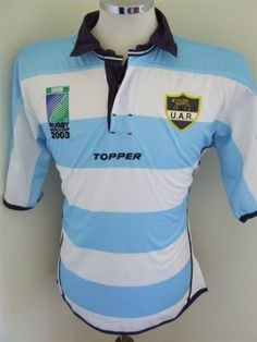 Argentina rugby shirt 2003 Added on 04 Jan 2013 at 13:20 by www.facebook.com/pages/SPORTS-SUPPORTERS/268801256487728