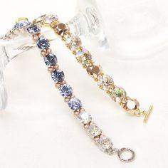 レシピNo.795 スワロフスキー・エレメント新色のエレガントセレブレス tennis bracelets