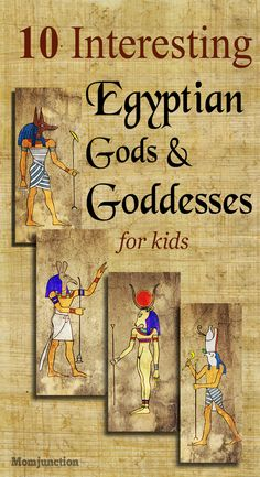 10 Interesting Egyptian Gods And Goddesses Facts For Kids: get some basic information about Egyptian deities and satiate your kid's curiosity.