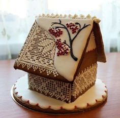 Gingerbread House Designs, Christmas Gingerbread House, Gingerbread Cookies, Gingerbread Houses, Xmas Food, Christmas Desserts, Food Garnishes, Dessert Decoration, Icing Recipe