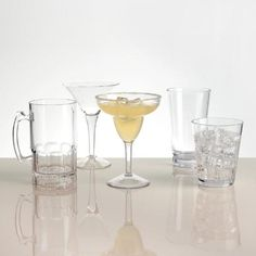One of my favorite discoveries at WorldMarket.com: Acrylic Barware Collection