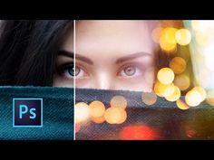 Tutorial Photoshop   Efecto de luces - YouTube