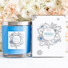 Find a sense of tranquillity with the cool and calming scents of Citrus & Sea Moss.